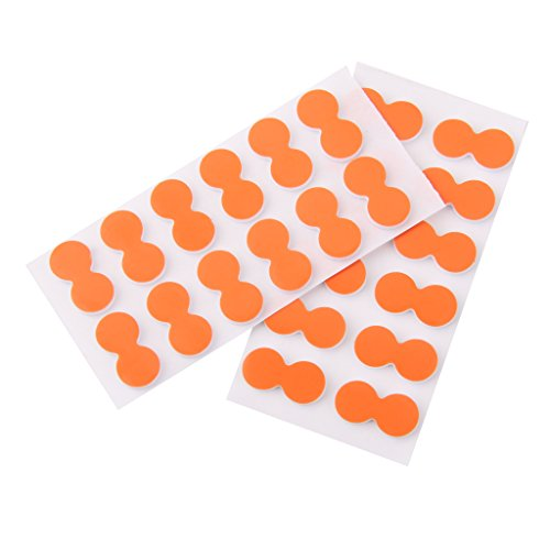 Fly Fishing Indicators - DYNWAVE Foam Pinch On Strike Indicator Fly Fishing for Fishermen Pack of 24 Orange