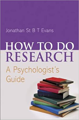 Book How to do Research: A Psychologist's Guide