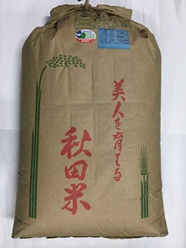 秋田県 JAかづの産 淡雪こまち 調整済玄米 30Kg 特別栽培米 令和1年産