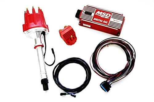 Billet Msd Pro Distributors Box - SBF 289/302 MSD Ignition Digital 6AL Box Vacuum Pro Billet Distributor Coil