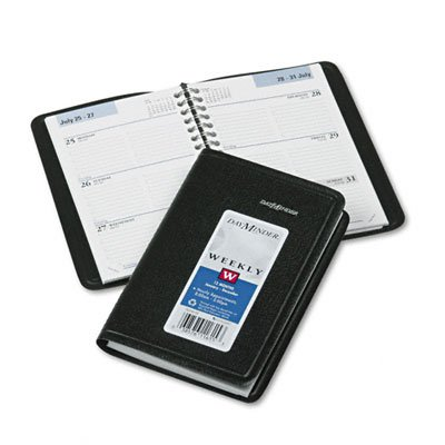DayMinder 2015 Weekly Pocket Appointment Book, Black, 4.18 x 6.5 x .48 Inches (G250-00)