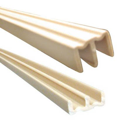 (Knape & Vogt 3/4x48 Plastic Track Set Tan)
