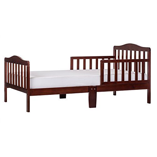 Contemporary Design Toddler Bed in Espresso