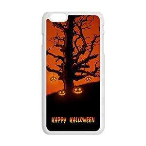 """Happy Halloween special tree and pumpkin Case for iPhone 6 plus 5.5"""""""