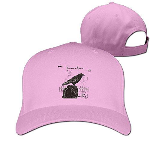 Solid Color Up Adjustable Hat Adult Mom Nevermore Raven Black Bird Halloween Spooky 1 Cute WQ UNIQUE