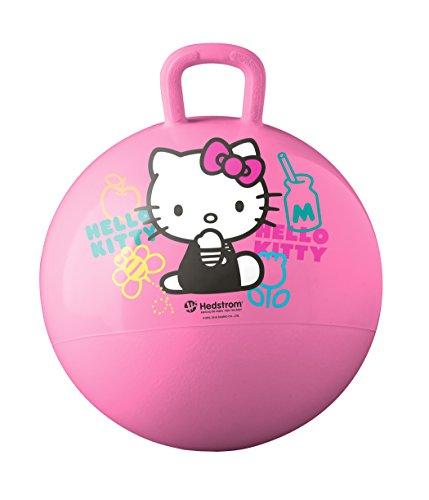 Hello Kitty Frog - Hedstrom Hello Kitty Hopper Ball, Hop ball for kids