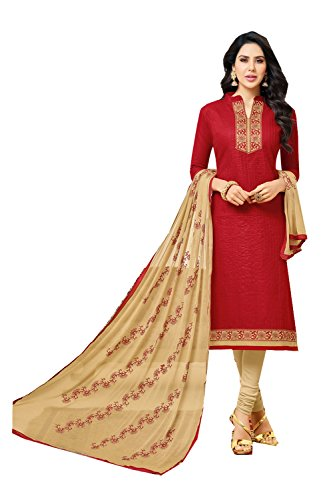 Fashions Trendz Indian Women Designer Partywear Ethnic Traditonal Red Salwar Kameez by Fashions Trendz