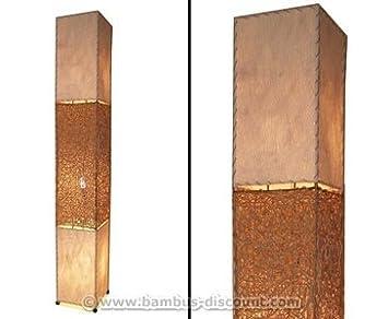 Bambus Discount Com Stehlampe Bangkok Aus Naturmaterial Hohe 170cm