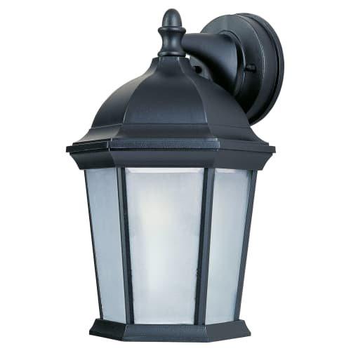 - Maxim Lighting 56024FTBK Side Door Led E26 Outdoor Light, Black