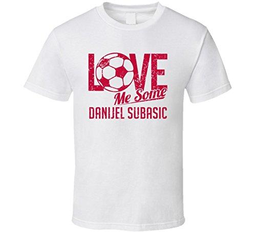 Danijel Subasic Love Me Some Croatia World Cup 2018 Football Fan T Shirt 2XL White