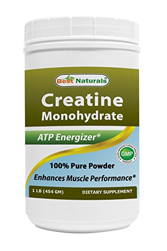 Best Naturals Creatine Monohydrate 1 Lb Pure Powder