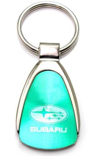 Prima Subaru Verde Agua Logotipo del cromo del metal Tear ...
