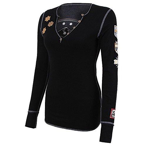 Alp-n-Rock Gondola Luxe Henley Shirt (Gondola Rock)