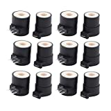 ApplianPar Pack of 6 Replacements for 279834 AP3094251 PS334310 12001349 Dryer Gas Valve Ignition Solenoid Coil Kit