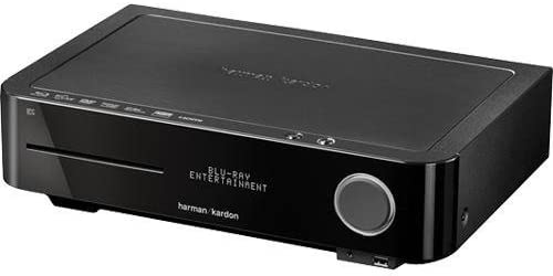 Harman Kardon BDS 2 SO 2.1 Channel Blu-ray Home Theater Receiver – Black Gloss