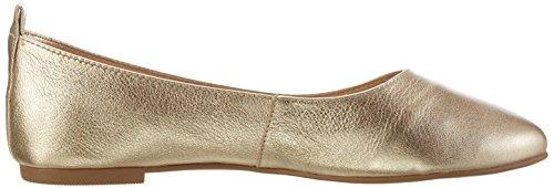 Buffalo London ZS 6272-16 Soft Tumbled, Bailarinas Para Mujer Dorado (GOLD 01)