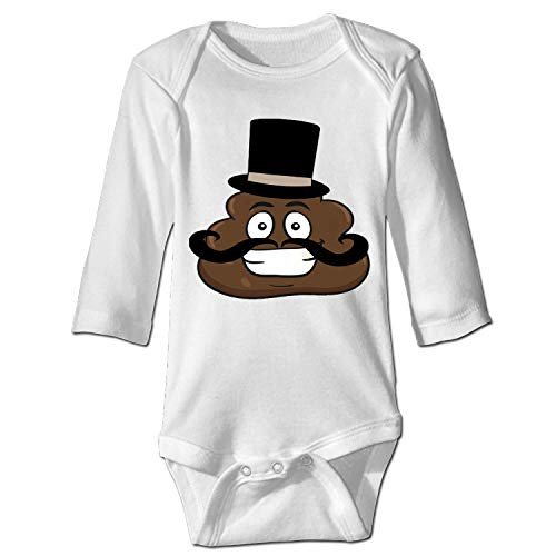 shunshunfeng Mr.Poop Baby Infant One Piece Bodysuit