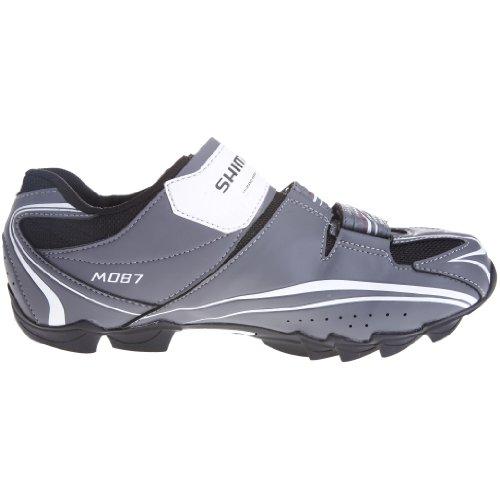 Shimano - Zapatillas de ciclismo para hombre, color plateado, talla 49 Gris