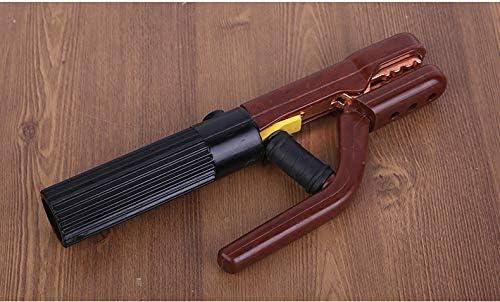 apto para soldadura de varillas MMA//Arc NUZAMAS 800A Soporte para electrodos de soldadura mand/íbula resistente abrazadera de electrodo mango recubierto resistente al calor
