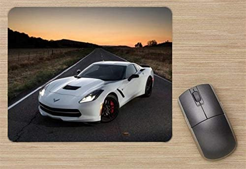 Printed Mousepad Chevrolet Corvette C7 Stingray 2014 Mouse Pad