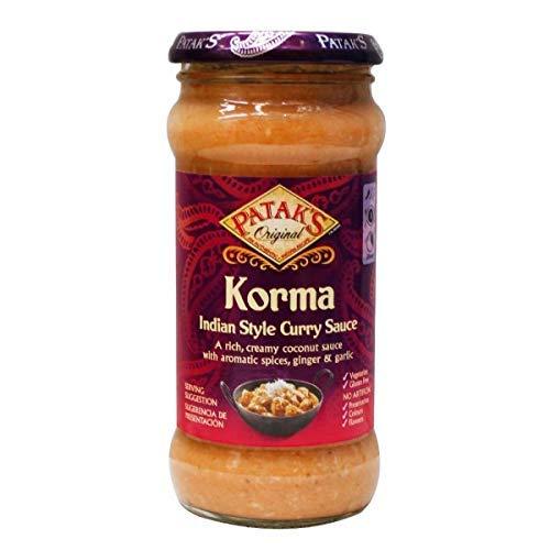 Patak's, Frasco Salsa Korma, Currysaus op Indiaanse wijze, 350 g