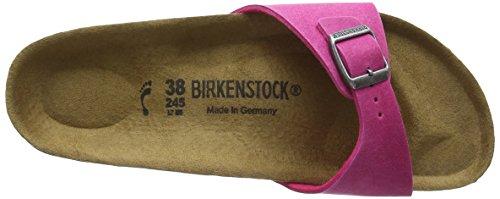 Birkenstock Madrid Vegan - Mules Mujer Rosa - rosa