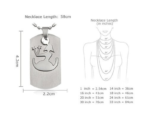 Buy Girlzstainless Steel Zodiac Sign Pendant Necklace With Chain