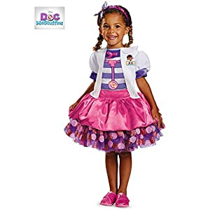 Disguise Disney Doc Mcstuffins Tutu Deluxe Toddler Costume - 41M5axRZQTL - Disguise Disney Doc Mcstuffins Tutu Deluxe Toddler Costume