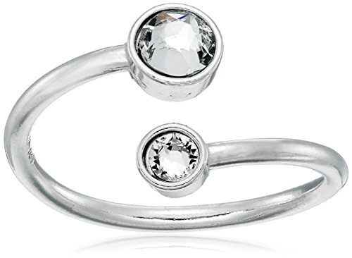 (Alex and Ani Wrap Birth Month Adjustable Ring, April , Size 5-7)