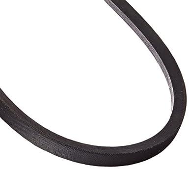 18 Length x 0.5 Width x 0.32 Height BESTORQ A16 or 4L180 Rubber V-Belt Wrapped Black