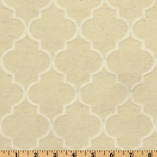 World Wide Naturally Washed Collection Crawford Jacquard Natural Fabric By The Yard (Crawford Natural)