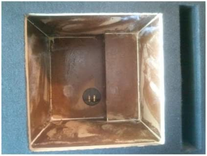 Absolute USA DKS12 Dual 12-Inch MDF Square-Hole Vented Enclosure Box for Kicker L7 L5 Solo-Baric Subwoofers