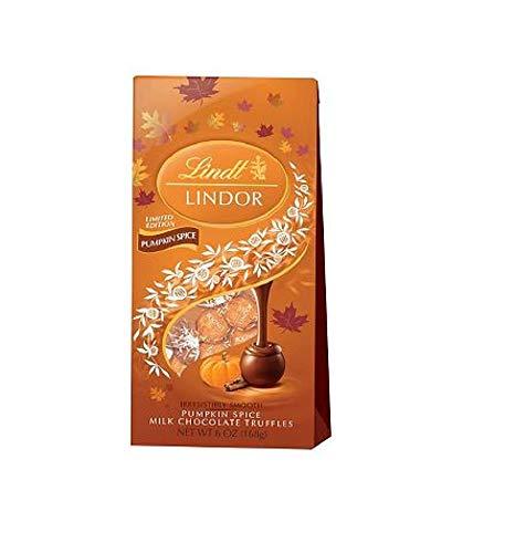 Lindt Lindor Pumpkin Spice Halloween Milk Chocolate Trufflles 6 oz -