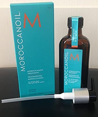 Moroccanoil Hair Treatment 3.4 FL OZ/100 ml Bottle with Blue Box
