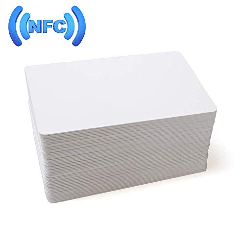 MIFARE Classic 1K RFID Smart Cards 13.56MHz ISO14443A Blank RFID Hotel Key Cards Printable (50) ()