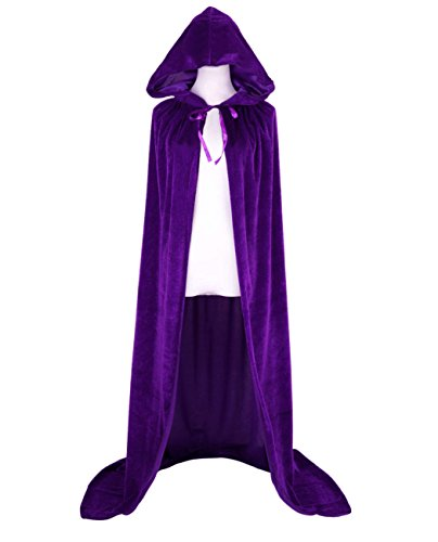 Beaut (Purple Hooded Cape)