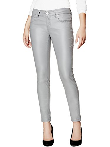 GUESS-Factory-Womens-Lanori-Coated-Skinny-Jeans