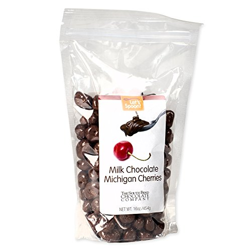 South Bend Chocolate Company Milk Chocolate Michigan Cherries 16 Ounce Bag