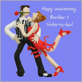 Amazoncom Holy Mackerel Brother And Sister In Law Anniversary