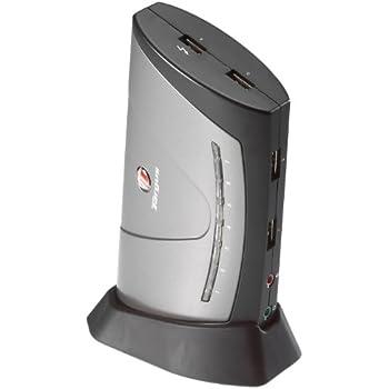 Targus 7-Port USB 2.0 Desktop Hub with Audio Pass-Through ACH81US (Silver)
