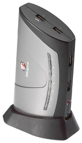 Targus 7-Port USB 2.0 Desktop Hub with Audio Pass-Through ACH81US (Targus Desktop Usb)