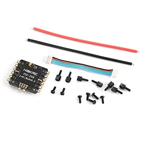 Wikiwand 20A 4 in 1 BLHeli_S/Dshot 600 Oneshot ESC for RC Racing Drone Quadcopter Model by Wikiwand (Image #6)