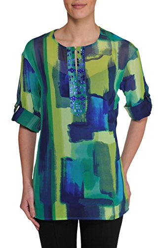Petite Beaded Tunic NygardBlueCbo PM