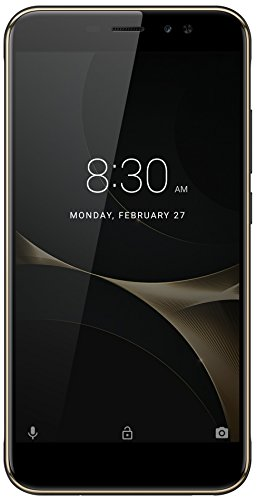 "ZTE Nubia N1 Lite 5.5"" Factory Unlocked Phone - 16 GB - Black & Gold (U.S. Warranty)"