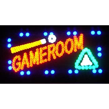 19x10 Game Room Motion LED Sign by EDGE001