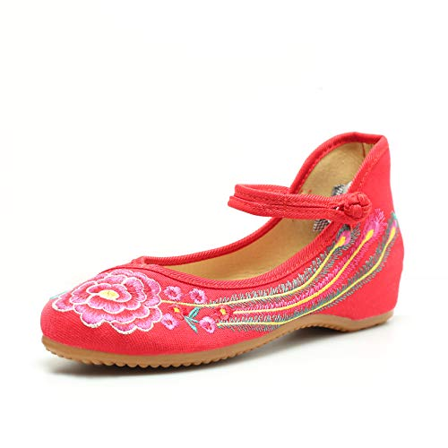 Embroidered Chinese Shoes Women
