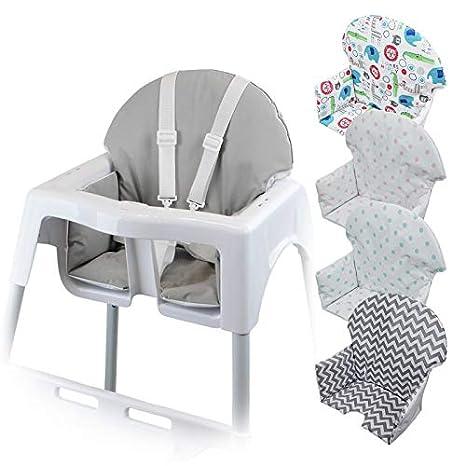 Bébé Housse ® Haute Monsieur Coloris Délice D'assise Norme Nf En14988 Pour Gamme Chaise 5 Enfant H9IE2D