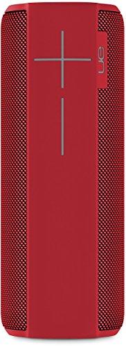 Ultimate Ears MEGABOOM Lava Red Wireless Mobile Bluetooth Speaker (Waterproof and Shockproof)