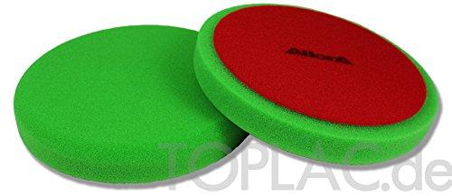AllorA Polierpad grü n glatt Polierschaum D160 mm geeignet fü r 3M Schleifpaste