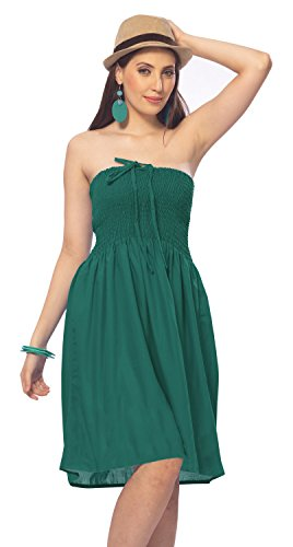 Robe Plus Tube Rayonne Size Fits Vert n628 coverudentelle Turqiose One travaill qEwtRI